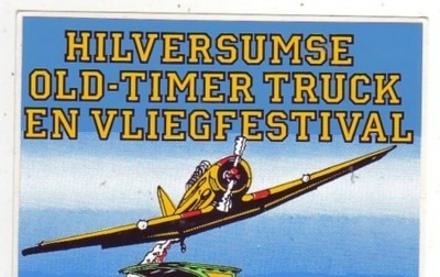 Old Timer Truck Festival Sticker