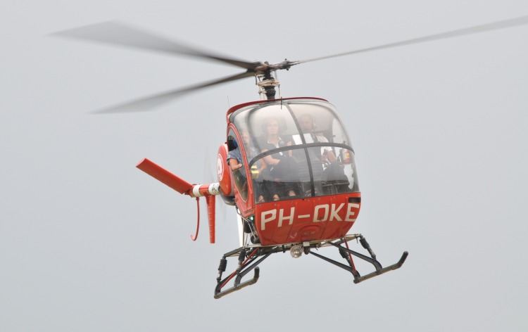 Proeflessen Ryfas Helicopters